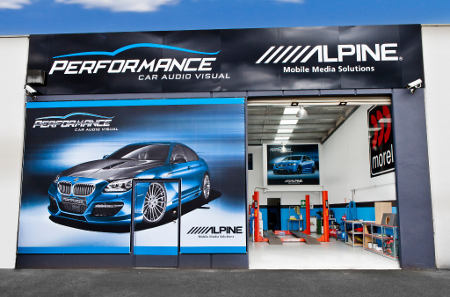 Performance Car Audio's Bayswater Workshop & Showroom