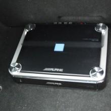 Holden VE Ute, complete custom audio installation