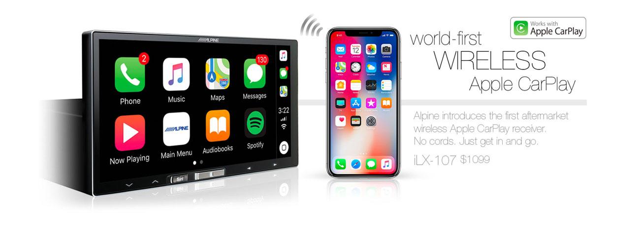 Car Audio Melbourne - Apple Car Play, Alpine ILX-107