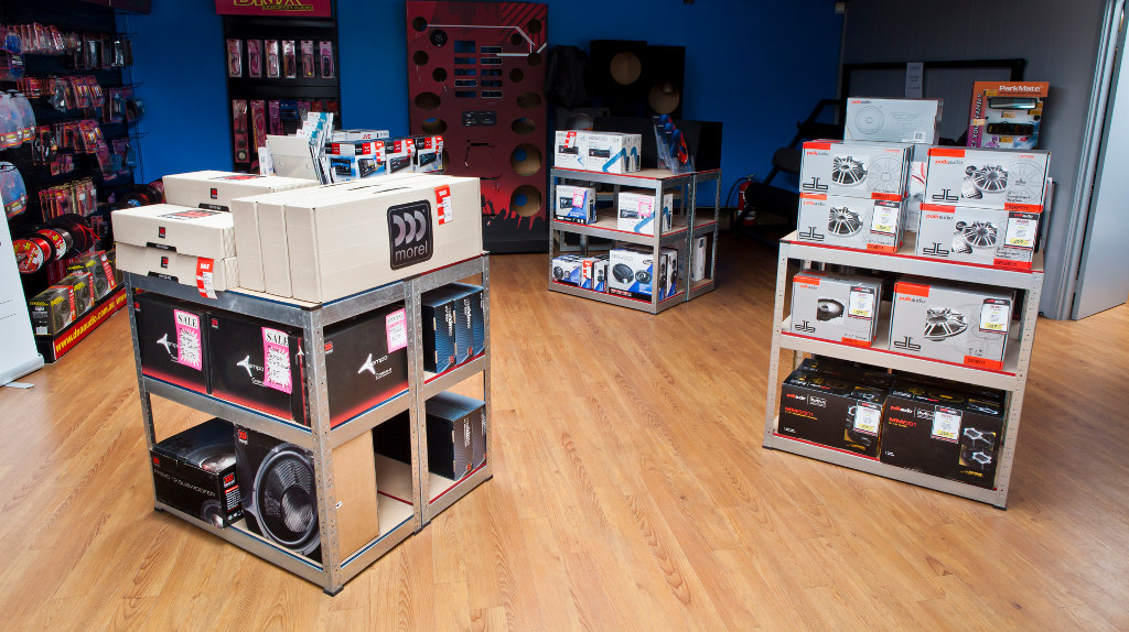 Car Audio Online Upper Showroom