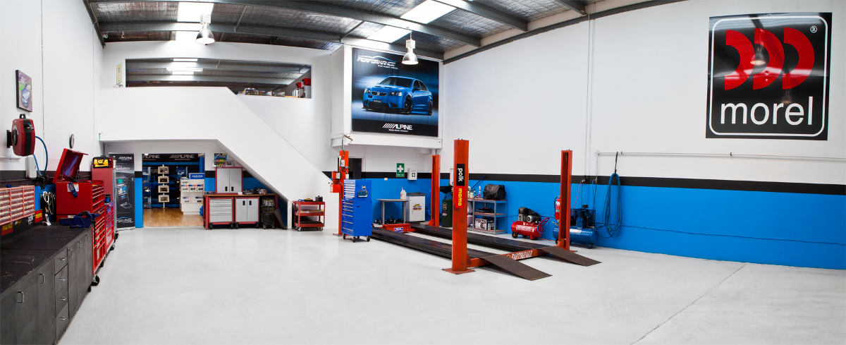 Performance Car Audio Workshop in Bayswater