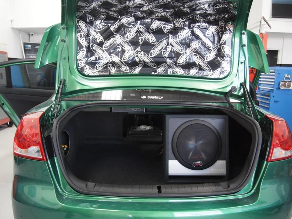 Car Audio Dynamat