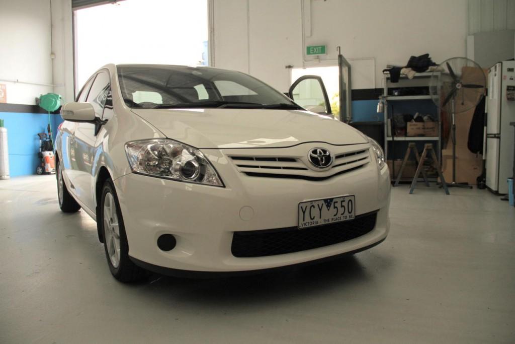 Toyota Corolla Reversing Camera Aftermarket Head Unit