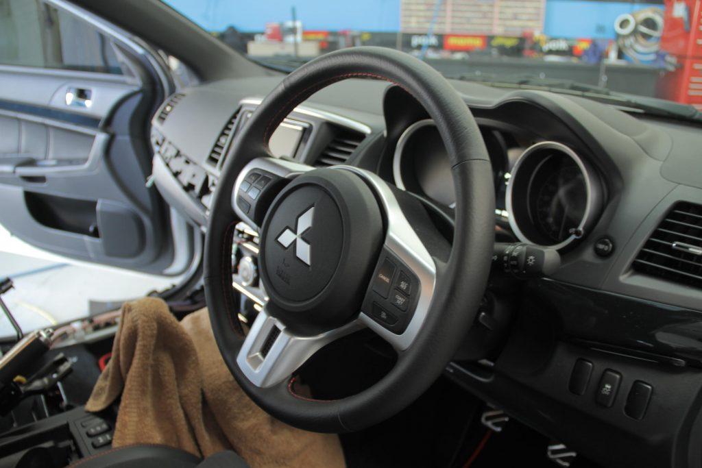 Mitsubishi Lancer Evolution X Car Audio Fitout 7