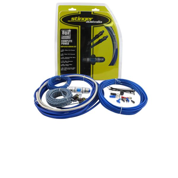 Stinger Australia 8 Gauge Wiring Kit Performance Car Audio Visual