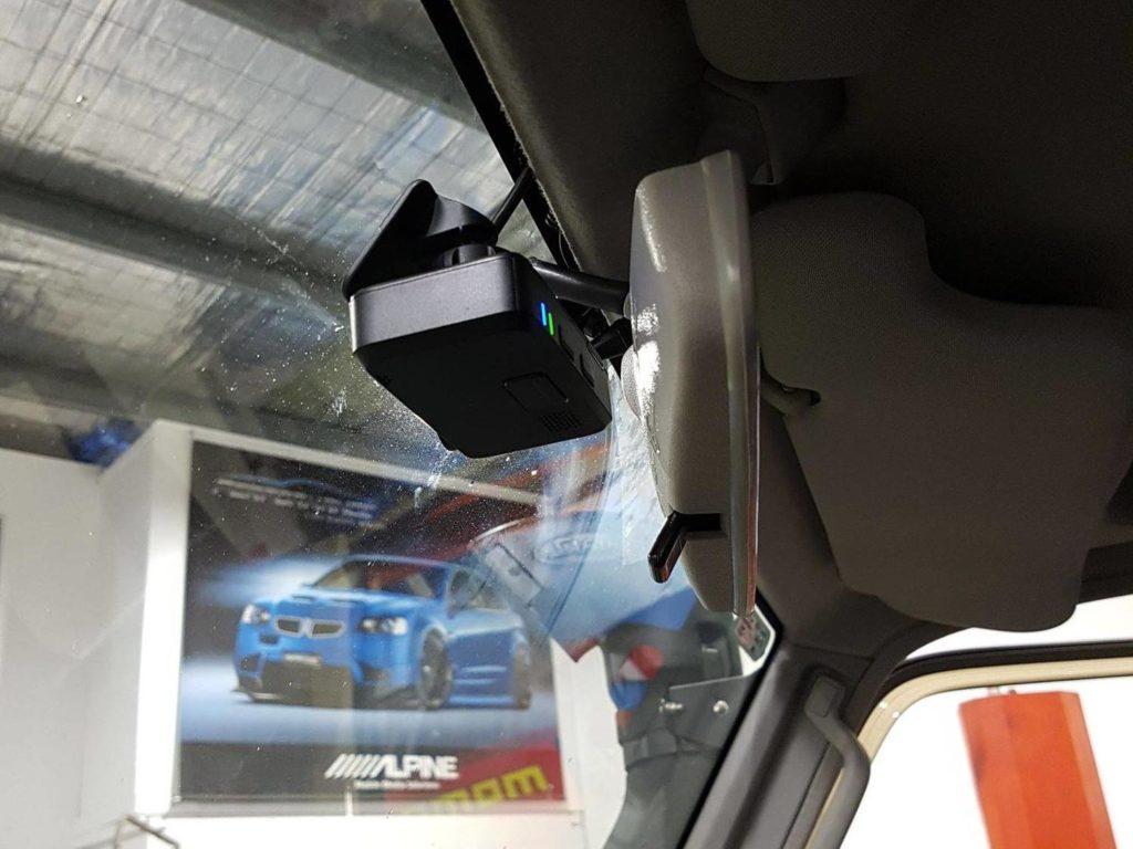 Toyota Landcruiser 70s Series Dash Cam