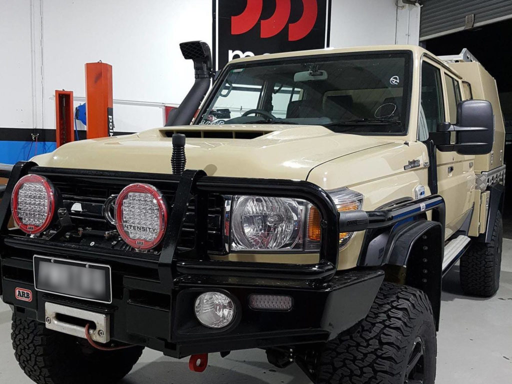 Toyota Landcruiser 70s Modified