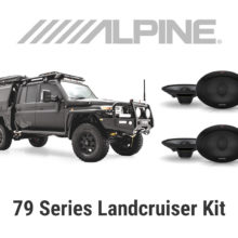 Landcruiser Audio Upgrade Kit Melbourne Alpine